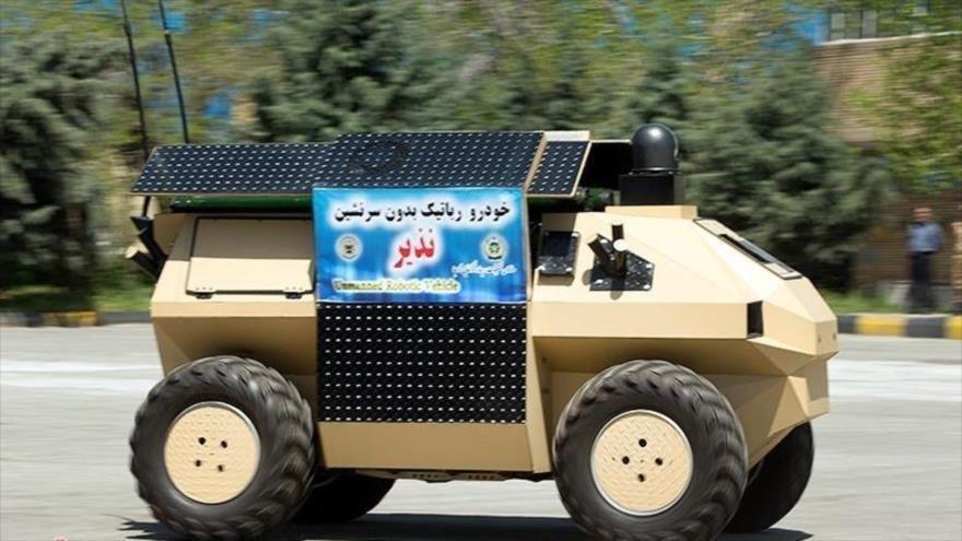 Robot kamikaze de fabricación iraní