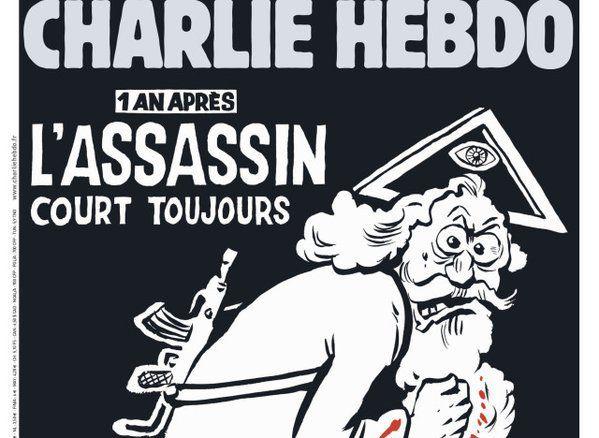 El Vaticano califica de Blasfemia la portada de Charlie Hebdo