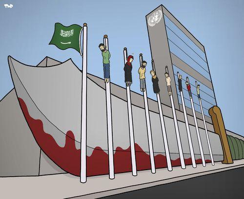 Arabia Saudita y la ONU, Tjeerd Royaards, Países Bajos