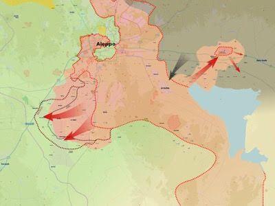 La situación militar actual en Siria