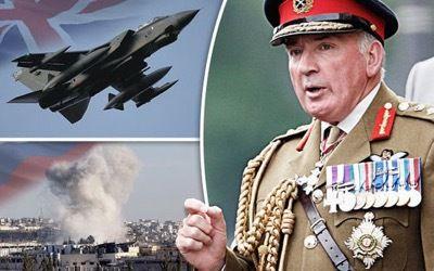 El ex jefe del estado mayor británico denuncia la política anti-Siria