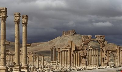 Vista de la ciudad de Palmira