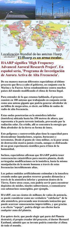 EL PROYECTO HAARP Y LOS TERREMOTOS