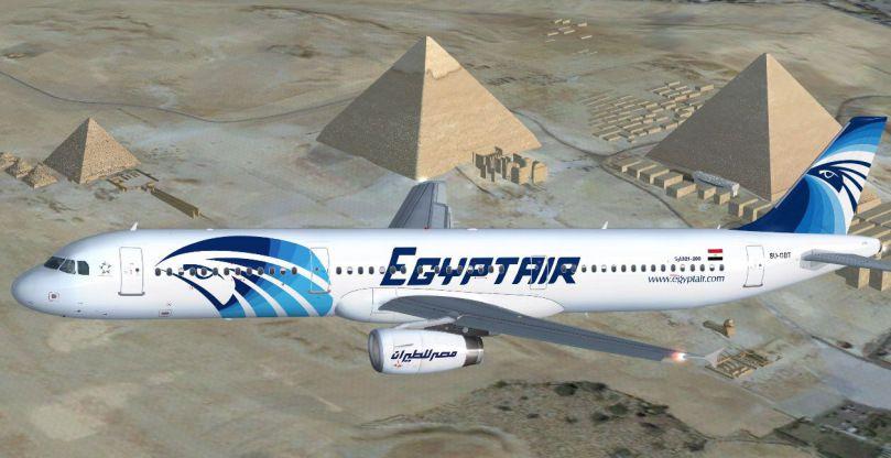 """El """"código (2) 39""""= 11/3, desaparición en pleno vuelo de un avión de la compañía egipcia Egyptair"""