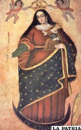 La imagen de la Virgen Morena del Socavón guarda muchos misterios.