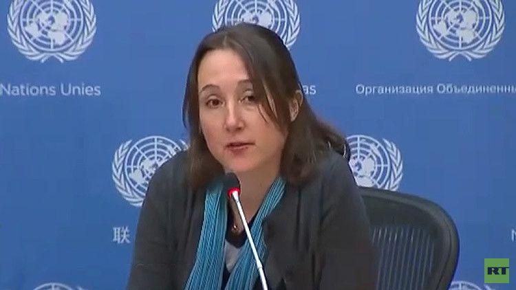 En solo 2 minutos: Periodista destapa en la ONU las mentiras de Occidente sobre Siria (vídeo)