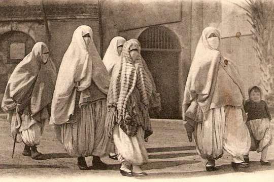 Marruecos, Niqab 1916