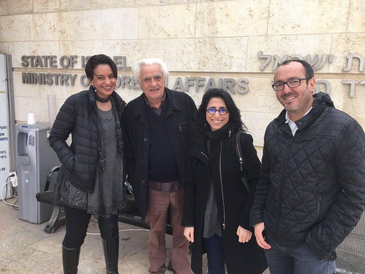 El Ministerio de Asuntos exteriores israelí invitó a periodistas y blogueros de Marruecos, Argelia y Túnez los días  13/3 y  14/3
