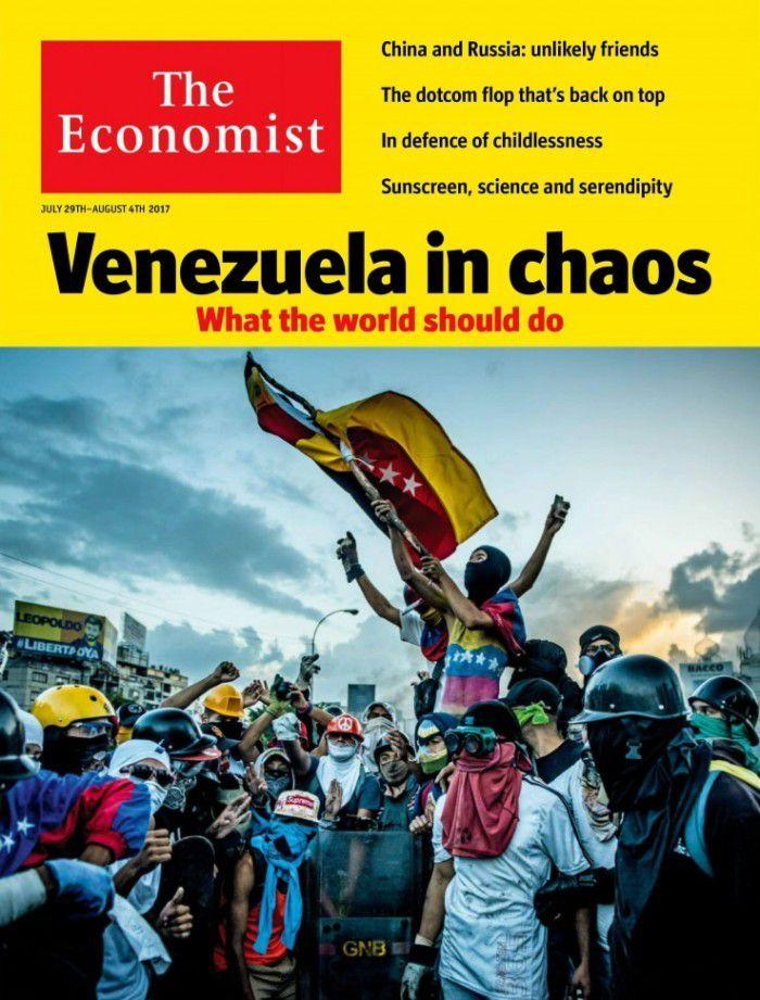 """The Economist, Londres: """"Venezuela en el caos – Lo que el mundo debiera hacer"""""""