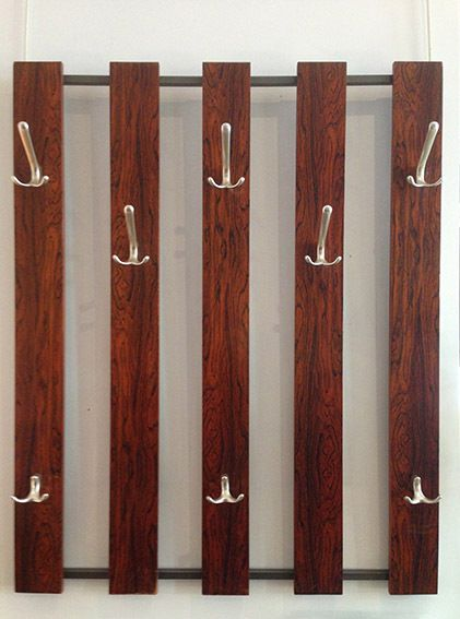 Coat Rack Rosewood 1960