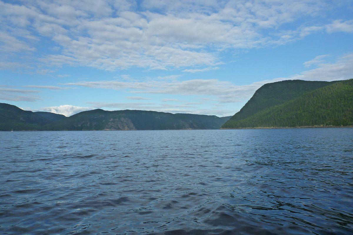 Canada - Celui qui randonnait au Fjord du Saguenay