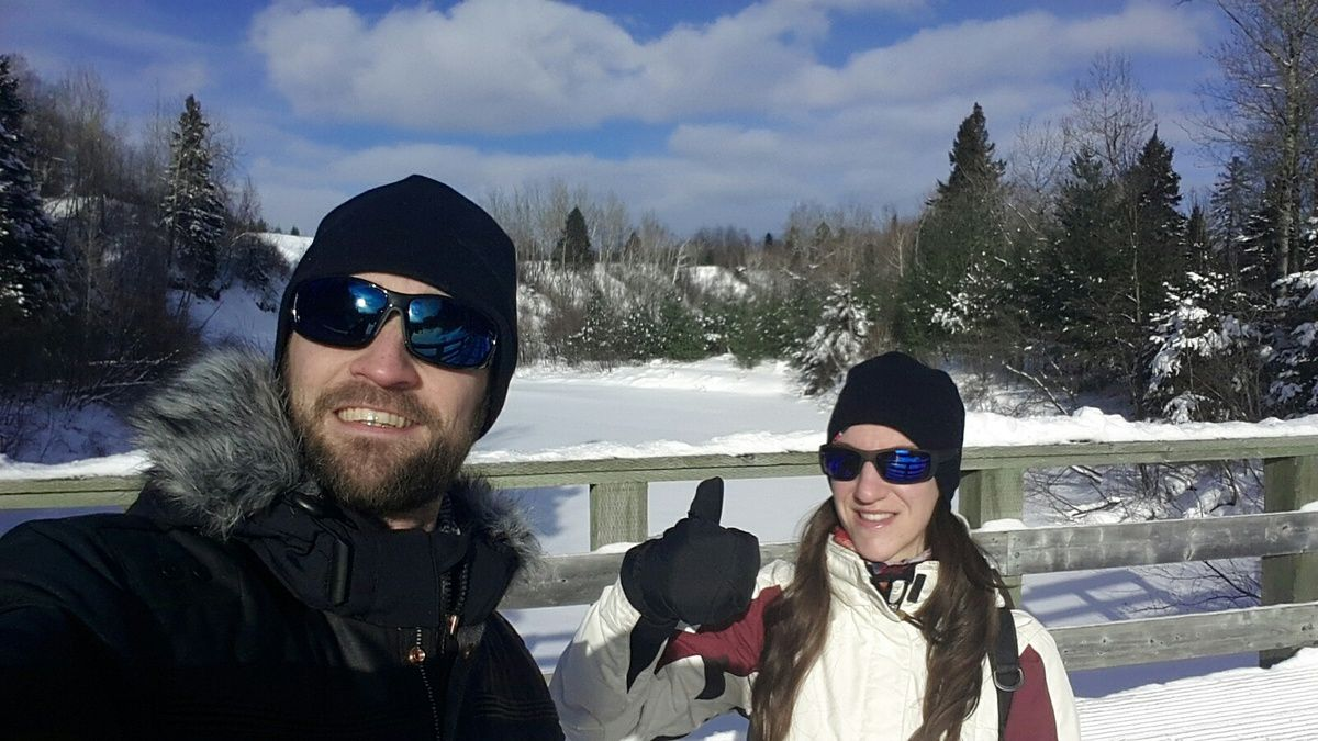 Canada : Celui qui s'essayait aux raquettes au Québec