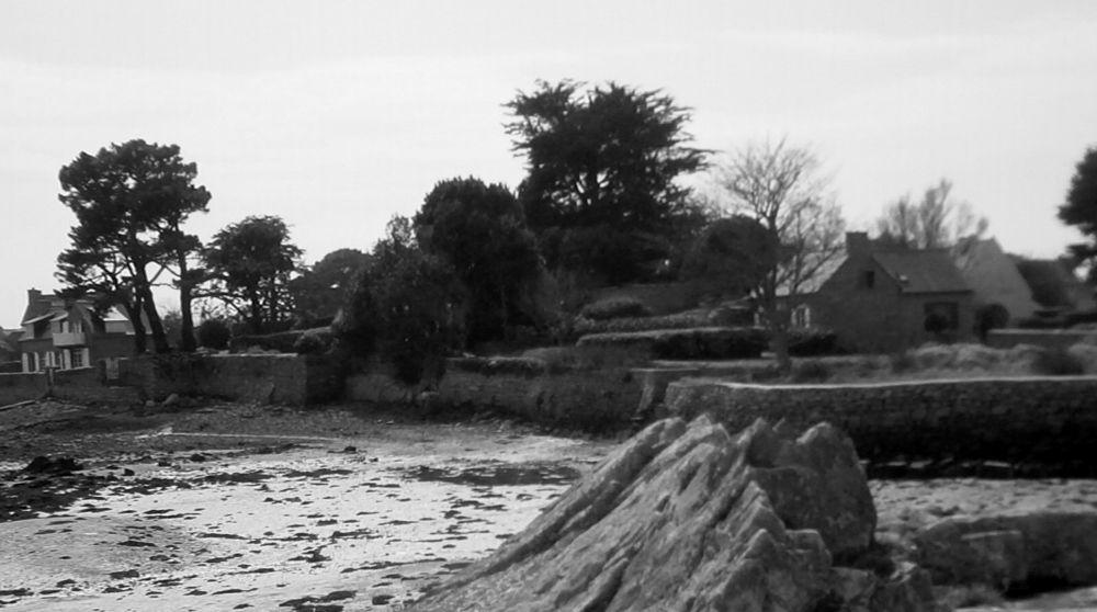 """Ar Poulloù (Les mares?)-versant Est de l'Île Nord- (Merci à Jean-Luc et Jean-Charles pour leur aide.) [(entre """"Krec'h al lanv""""-allano- )peut-être """"tertre du flux"""" et Le Palud (""""pré salé"""")}. Le coin n'est pas trop connu."""