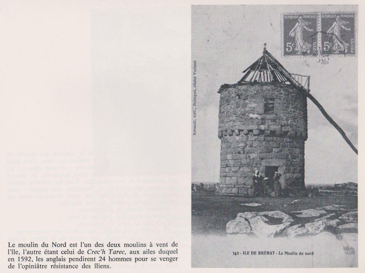 C.P. commentées. Le moulin du Nord