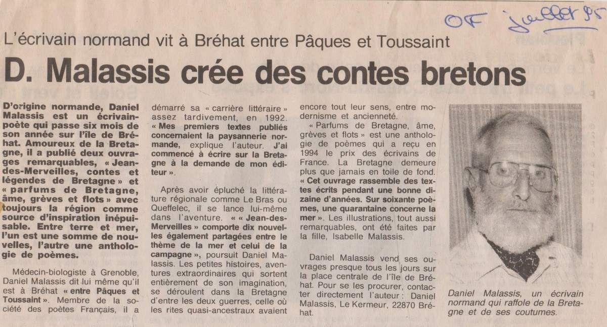 """retrouvé après coup dans """"les vieilleries de Babeth"""". M. Malassis est décédé en 2015."""