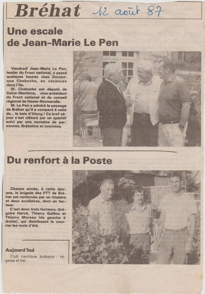 DIELLOU/ archives Août 87 Miz Eost