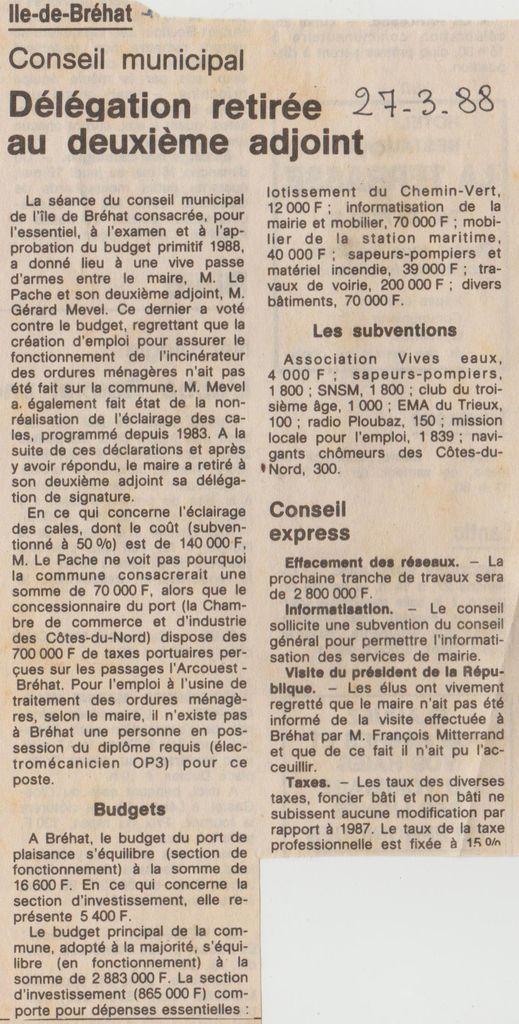 27 mars 1988