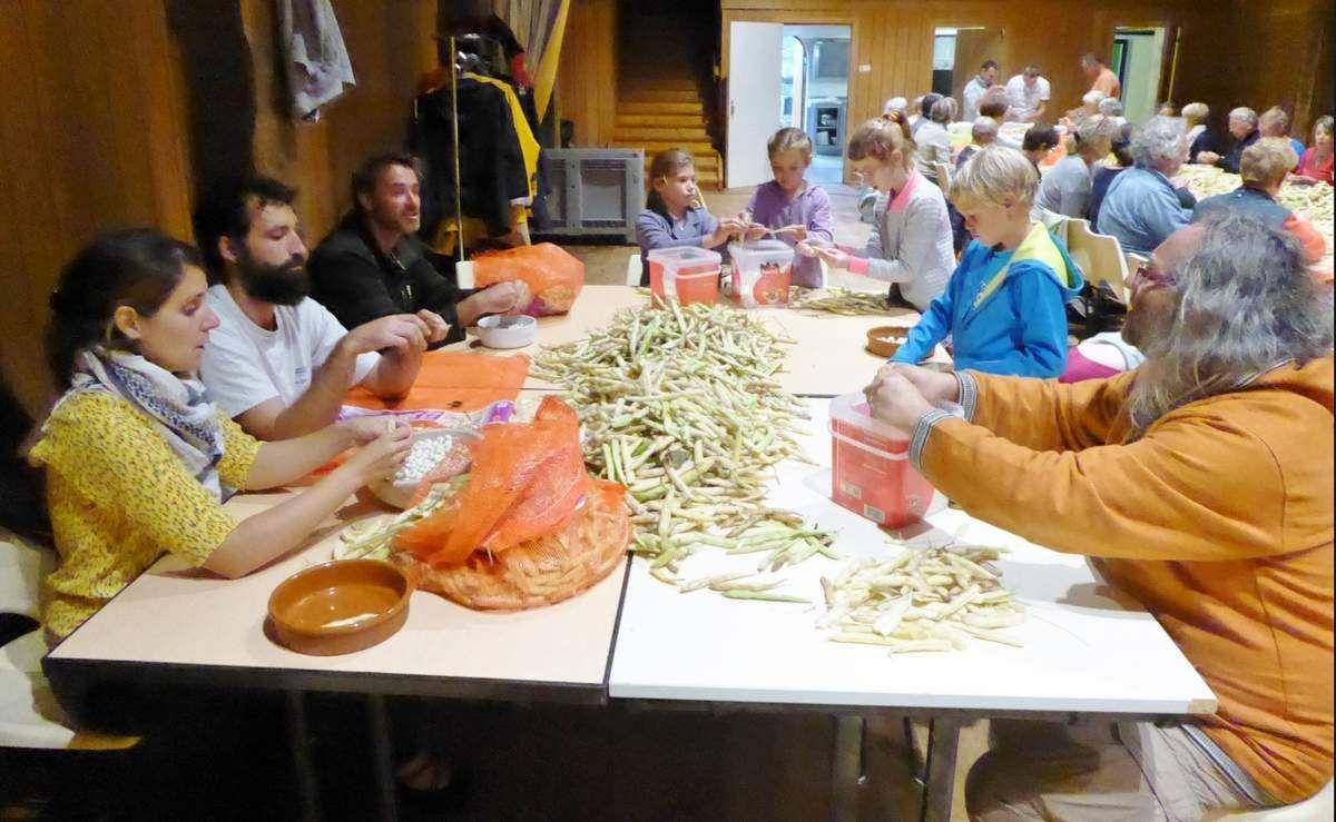 08/09/2017:préparatifs du futur repas de clôture (insulaires): 1000 convives prévus!(diaporama&#x3B; photos Babeth))