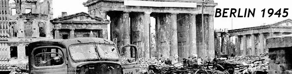 Ballade en couleur et en HD, dans les rues de Berlin en 1945.