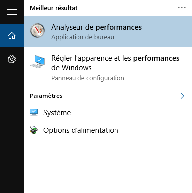 Augmenter la rapidité de Windows 10.