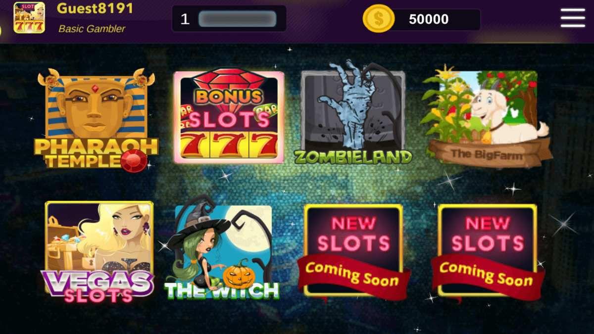 Code gratuit pour Billionnaire Slot, jeu de casino, sur Android.