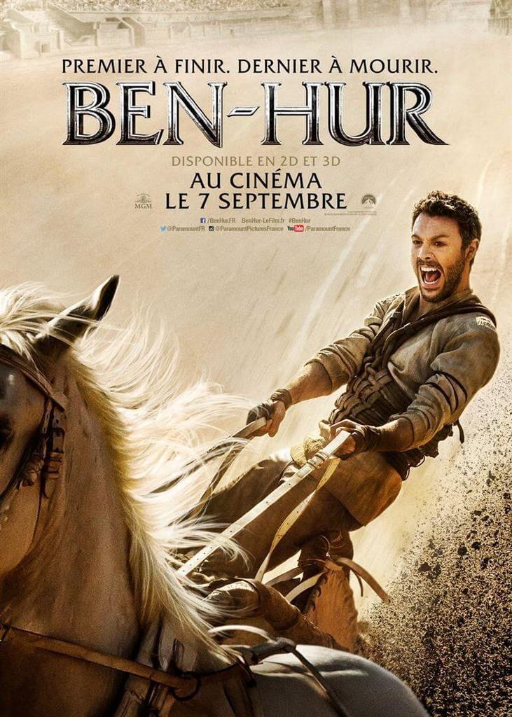 BEN-HUR revient au cinéma le 7 septembre.