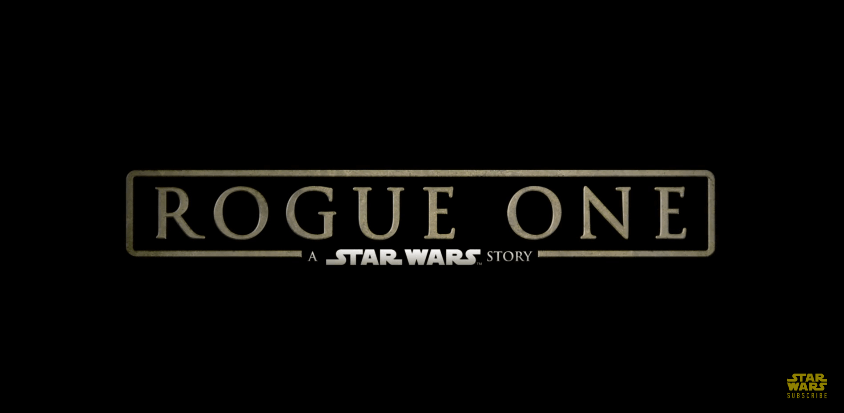 Un nouveau spot TV pour STAR WARS Rogue One.