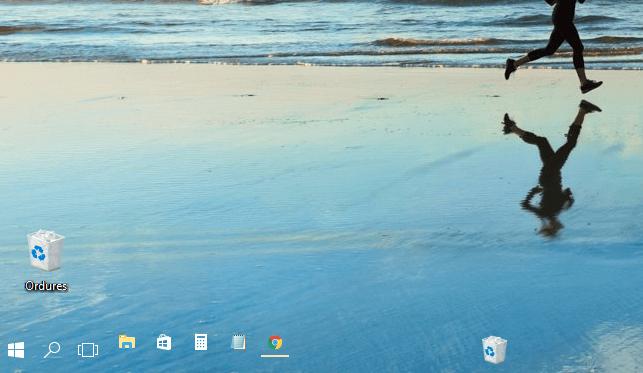 Rendre la barre des tâches de Windows 10 transparente.