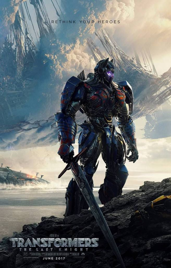 TRANSFORMERS The Last Knight, nouvelle bande-annonce en version longue.