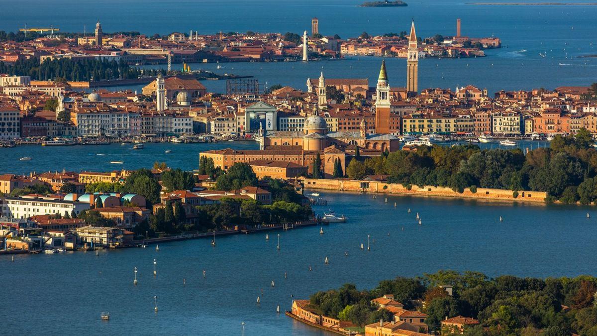 Venise et sa lagune, vues du ciel
