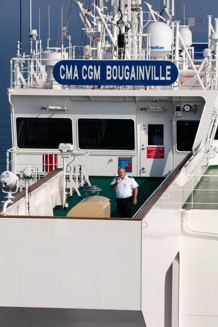 A la rencontre du CMA CGM Bougainville