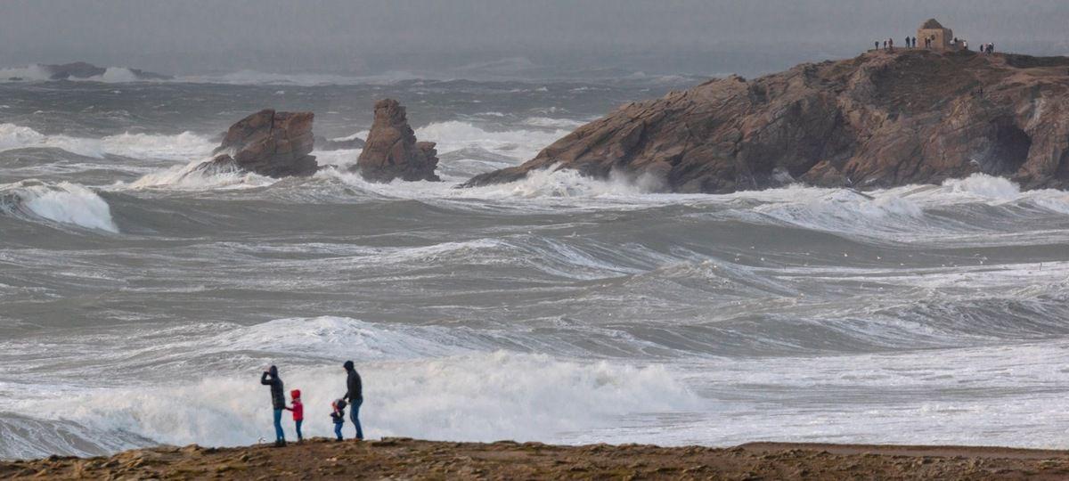 1er coup de vent de 2016 - Quiberon, 16H30