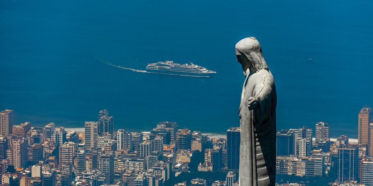 L'AUSTRAL EN ESCALE A RIO