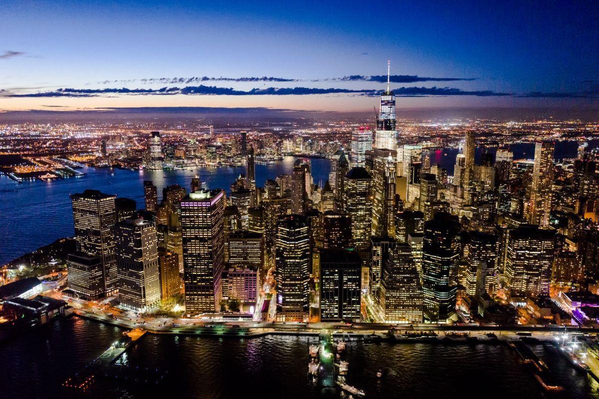 Et New York s'habille de lumières...