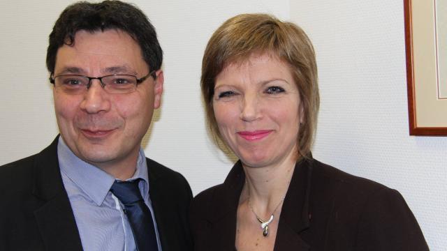 Elus sur Monfort : Anne-Françoise COURTIELLE et Christophe MARTINS