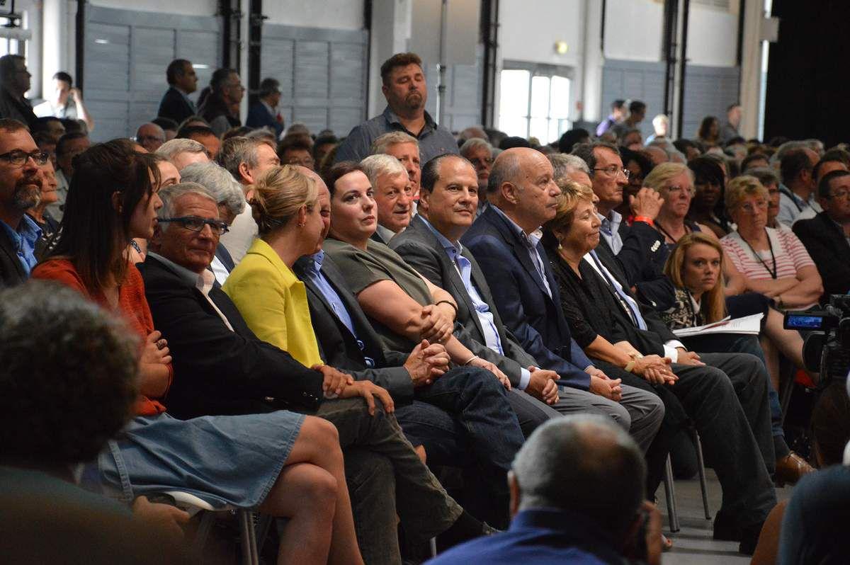 Yves Pietrasanta ouvre la plenière COP 21 de l'université d'été du PS