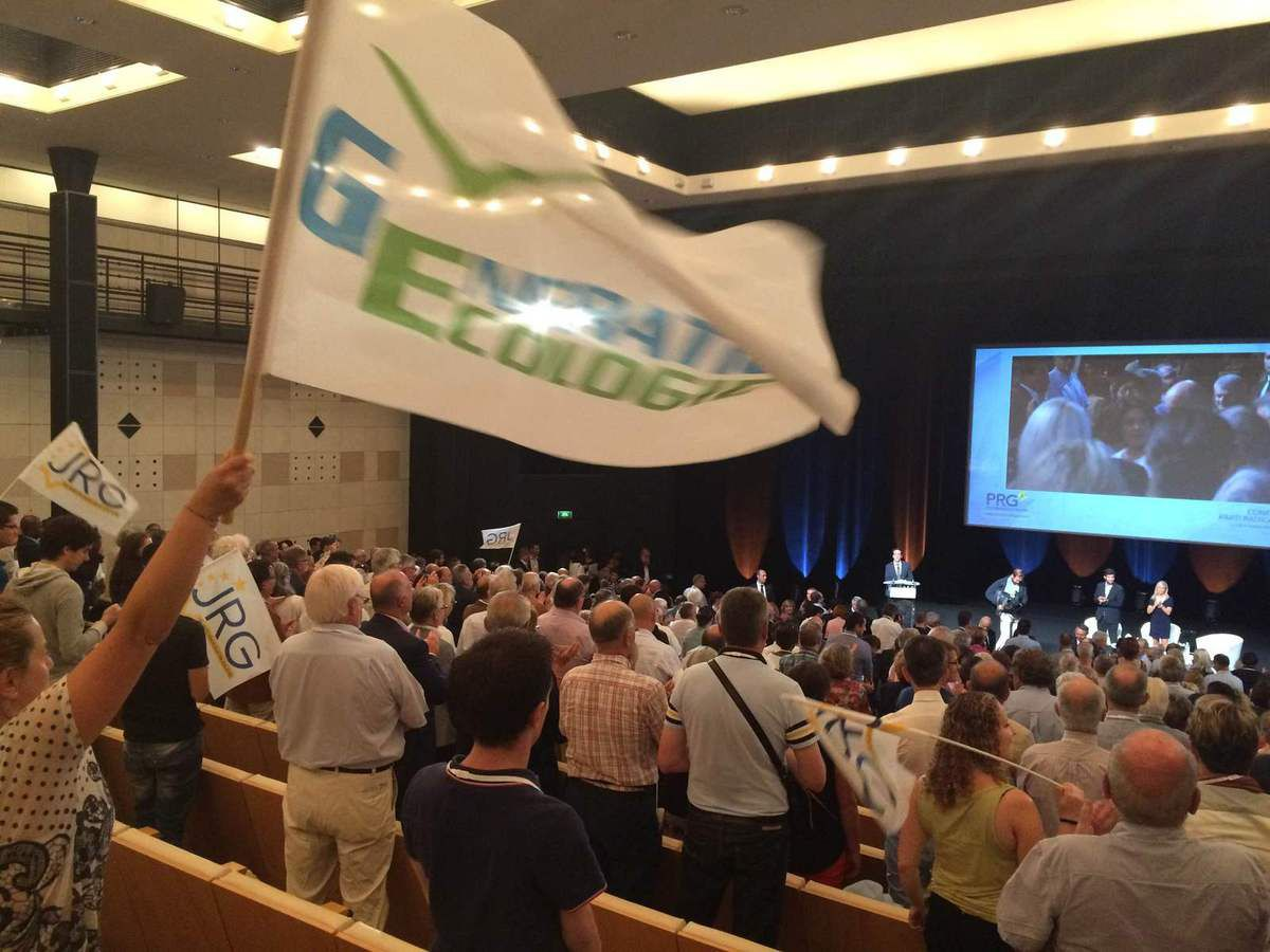 GE présent au Congrès 2016 du PRG