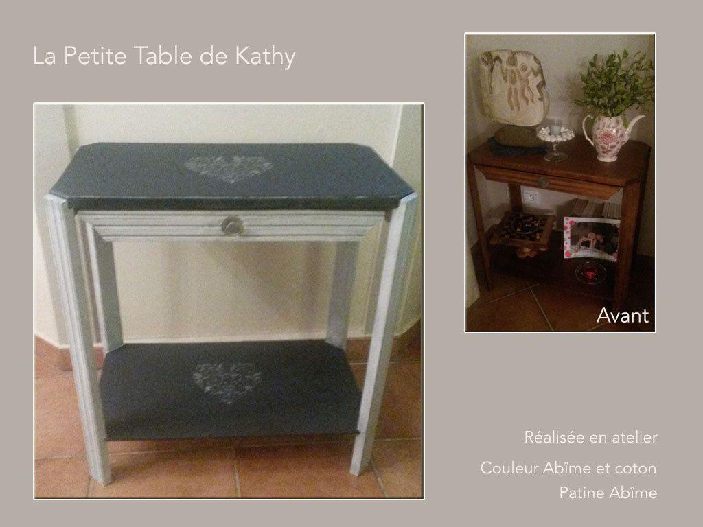 La petite Table de Kathy