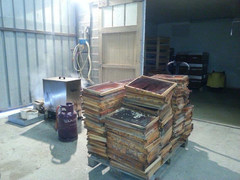 Mortalité des ruches hivers 2015
