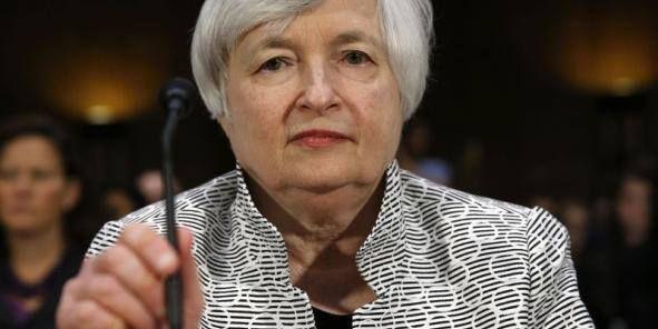 Janet Yellen, patronne de la Fed