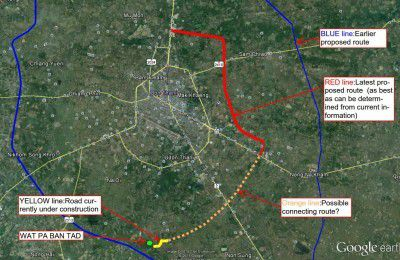 les projets vu ici http://www.udonmap.com/udonthaniforum/udon-thani-outer-ring-road-t37066.html