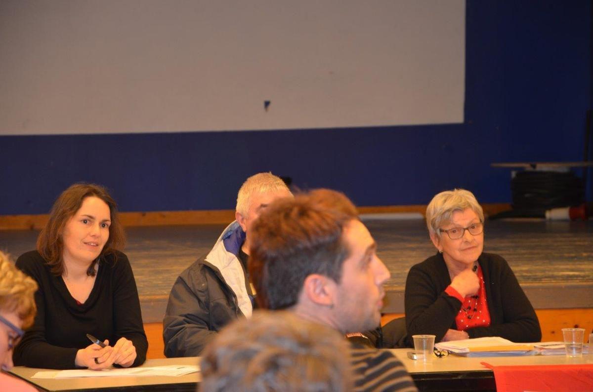 Réunion publique des candidats du Front de Gauche à Lanmeur le mercredi 25 février: les photos de Pierre-Yvon Boisnard