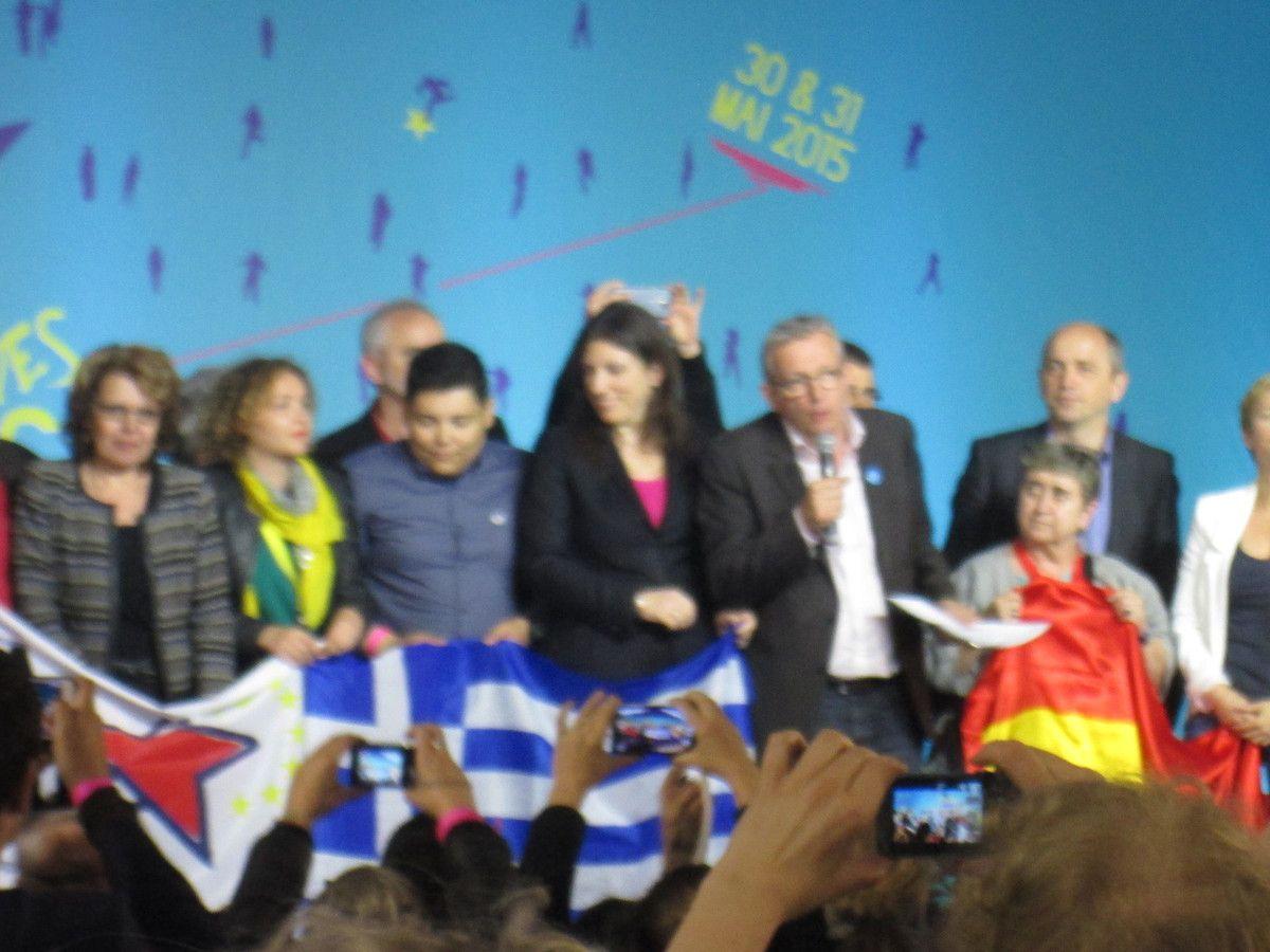 Appel pour la Grèce de Tasos Koronakis (présidente du Parlement grec) et de Pierre Laurent