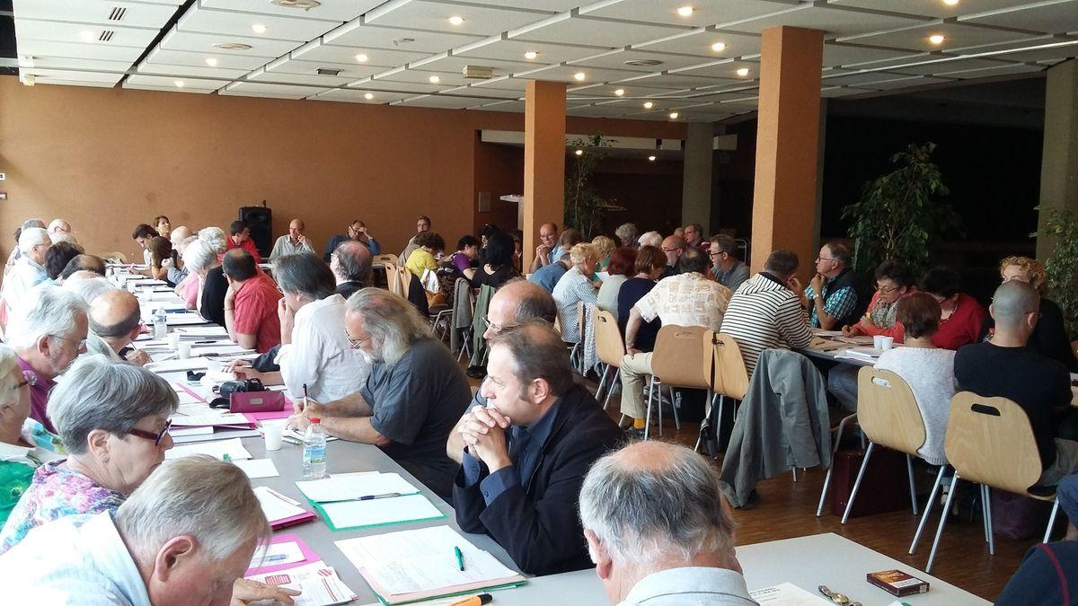 Photos de la conférence régionale du PCF (Jean-Luc Le Calvez): samedi 27 juin 2015