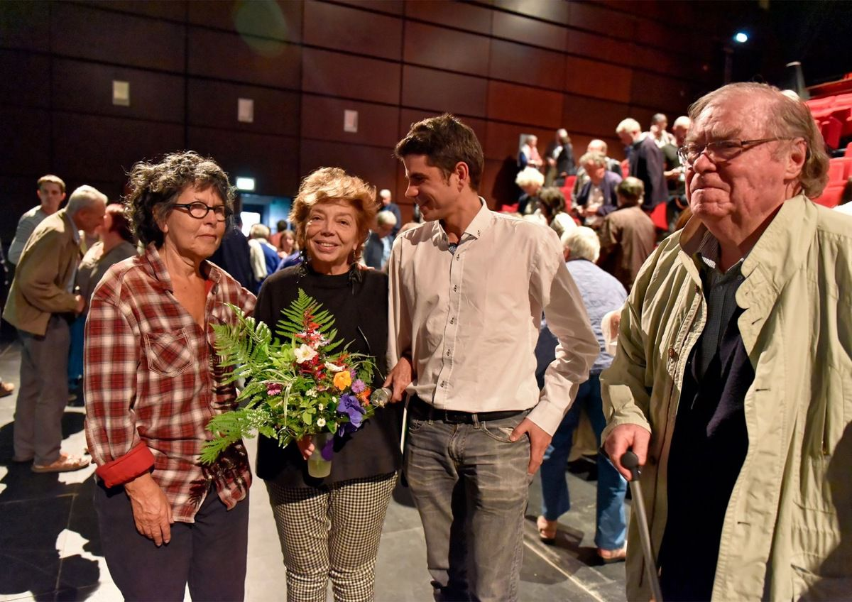 photo Jean-Marc Nayet: Lucienne, Leïla, Ismaël et Alain