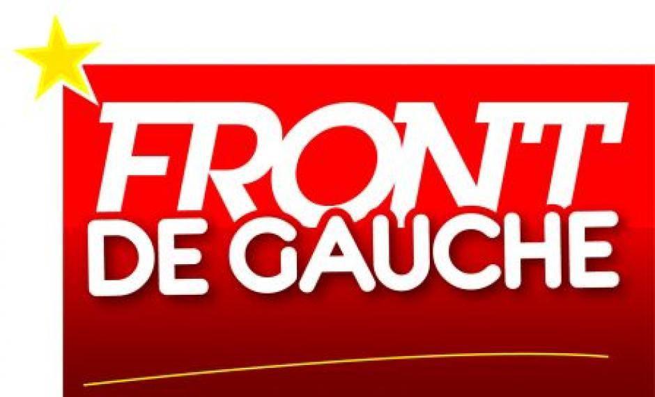 COP 21: Allons-y en train! Initiative du Front de Gauche et de sa tête de liste aux Régionales Xavier Compain à la gare de Brest, le dimanche 18 octobre