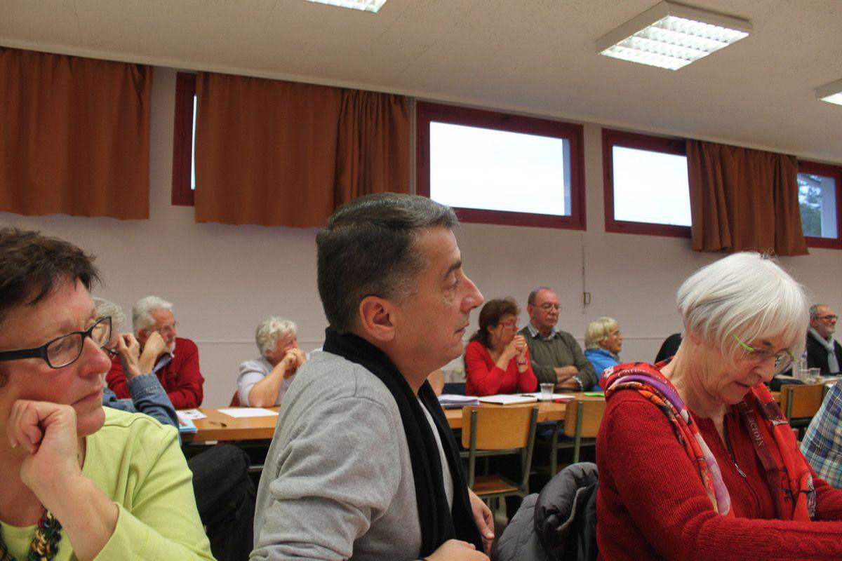 Martine (Plozévet), Manu (Morlaix), et Anne-Marie (Brest)