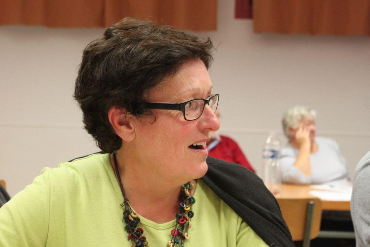 Martine Le Nozerh, membre de la direction départementale du PCF Finistère, ouvrière retraitée de l'agro-alimentaire, ancienne trésorière fédérale, élue à la tête du Comité Régional de coordination et d'animation du PCF avec Philippe Jumeau: le nouveau binôme d'animateurs du CRAC