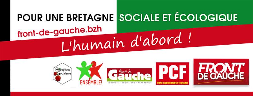 Régionales: Débat santé du Front de Gauche à Plourin les Morlaix le 6 novembre 2015 avec Xavier Compain et Catherine Boudigou