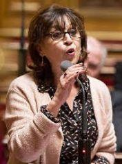 Eliane Assassi, sénatrice communiste de Seine St Denis